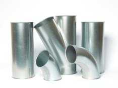 galvanised duct